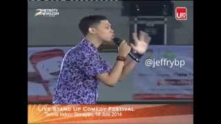 Repeat youtube video Arya Novrianus Stand Up Comedy Festival Indonesia 2014
