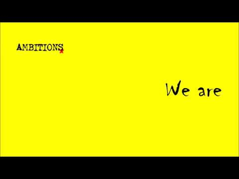 ONE OK ROCK-We are [Ambitions]中文字幕(請開CC字幕)