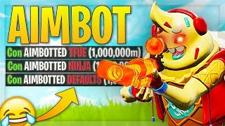 What using Fortnite AIMBOT is like.... 😂🔥