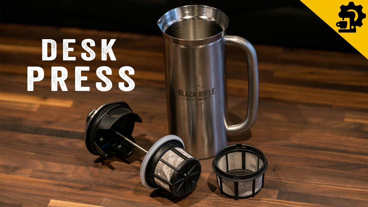 How To Use The Stainless Steel Desk Press Youtube Espro Medium 530ml