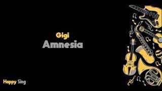 Amnesia - Gigi (Karaoke Minus One Tanpa Vokal dengan Lirik)