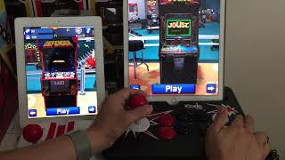 ICade Core & Ion iCade Cabinet work with Atari Greatest hits