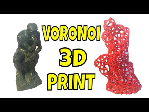 Create Voronoi Effect Quickly On 3D Prints