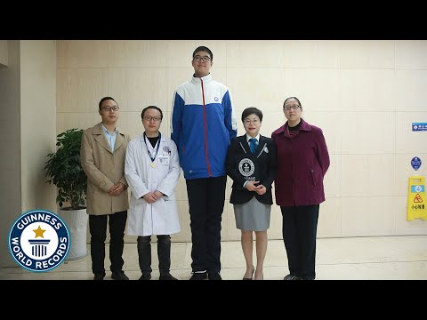 Tallest Teenager - Guinness World Records