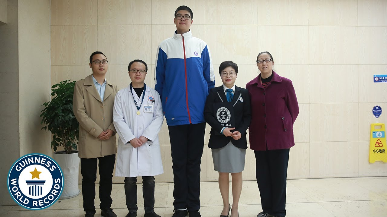 Tallest Teenager - Guinness World Records
