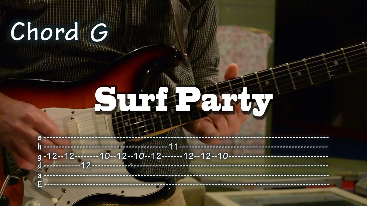 Surf Party The Astronauts Tabs And Chords Tutorial Cmo Tocar