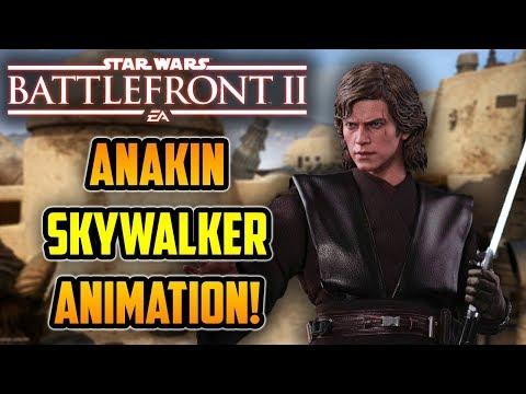 FIRST LOOK Anakin Skywalker Animation! Star Wars Battlefront 2 News Update thumbnail