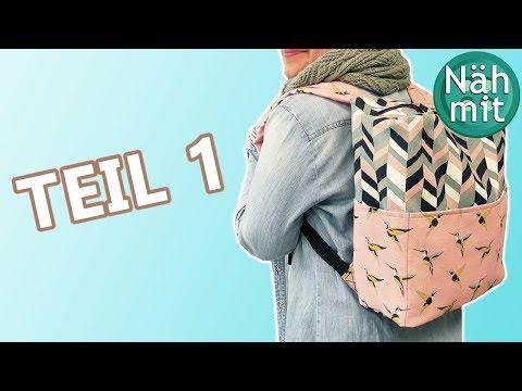 rucksack-nähen---teil-1-|-mit-innenfutter-|-anleitung-kostenlos-|-rucksack-tasche-|-näh-mit-mir!