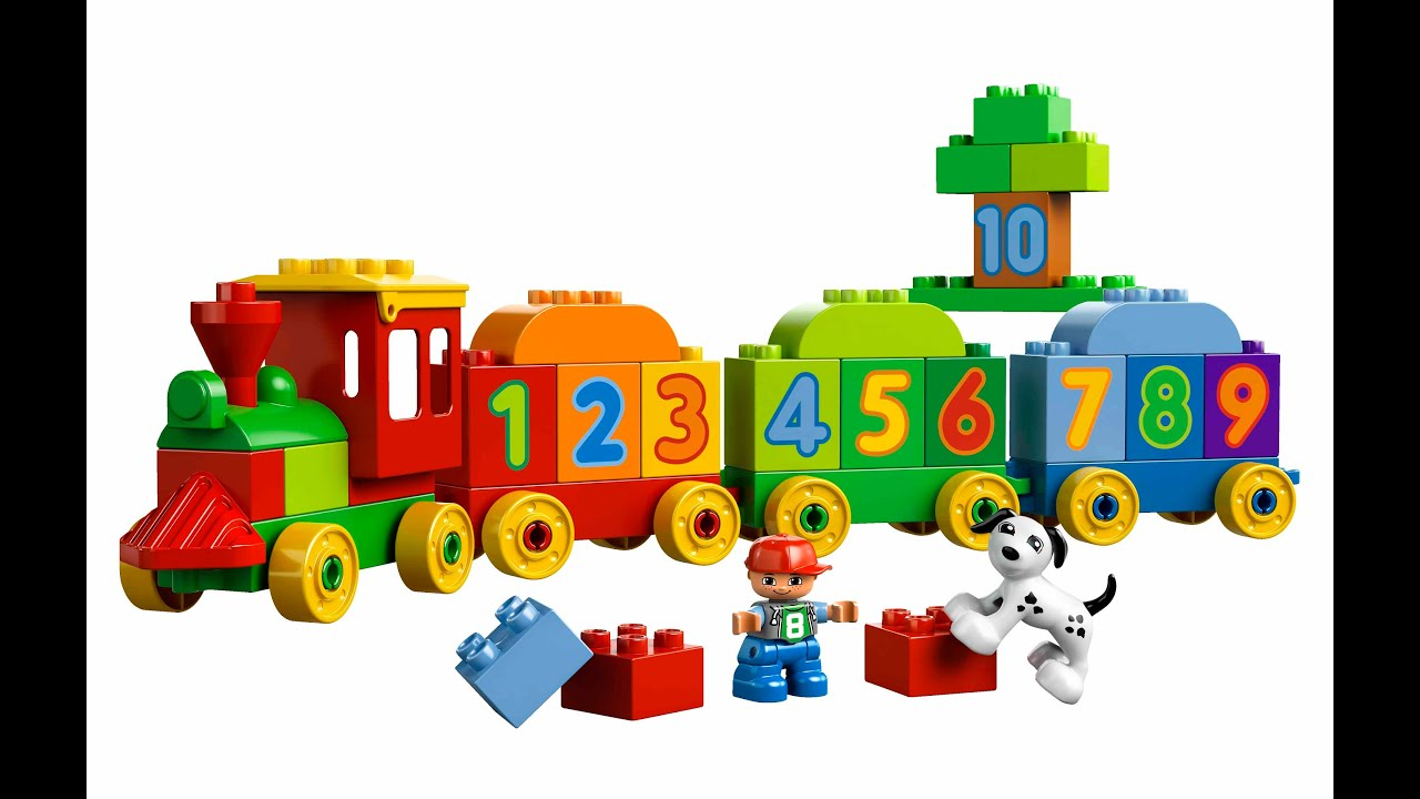 Lego Duplo Le Train Des Chiffres Jouet Pour Les Enfants