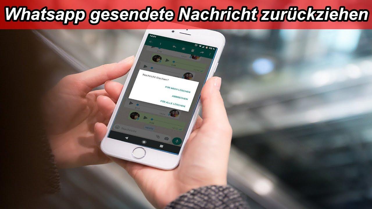 Nachricht löschen whatsapp ungelesen Whatsapp verlauf