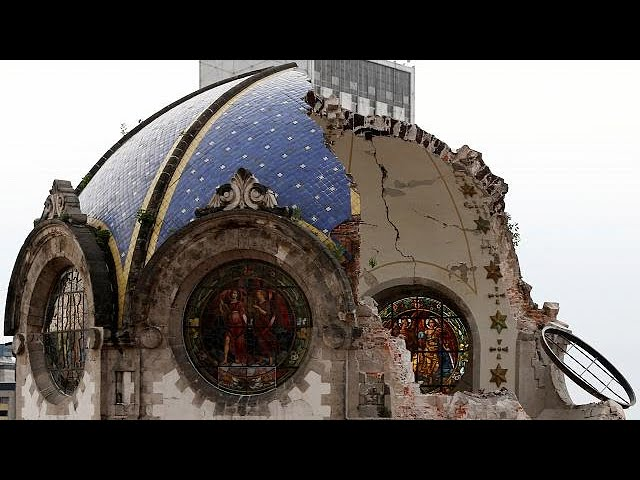 Historic churches damaged in Mexico earthquake