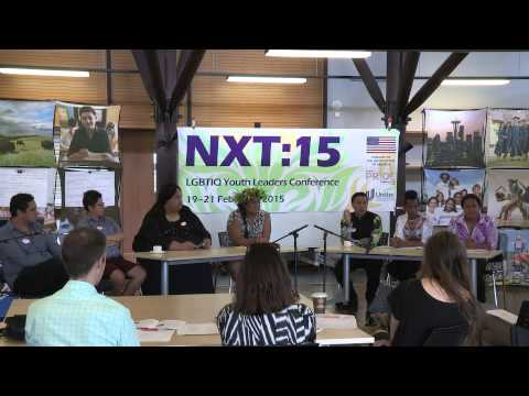 NXT:15 LGBTIQ Youth Leadership Conference: Panel Discussion - The 2050 panel