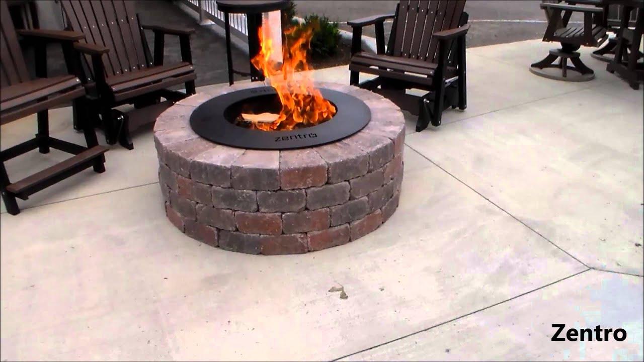 Zentro Smokeless Firepits Youtube