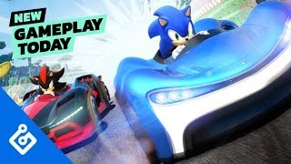 New Gameplay Today – Team Sonic Racing