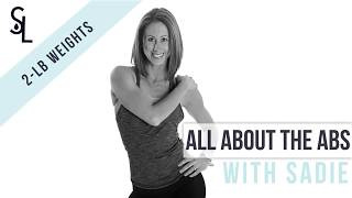 Sweat Lab Fitness Online Workout Videos | Great in 8 | All About the Abs