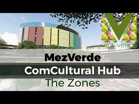 MezVerde ComCultural Hub, Clark Green City - The Zones | Architecture Thesis Cinematic No. 1