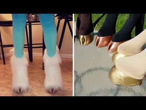 Designer Creates Bizarre 'Hoof Shoes'