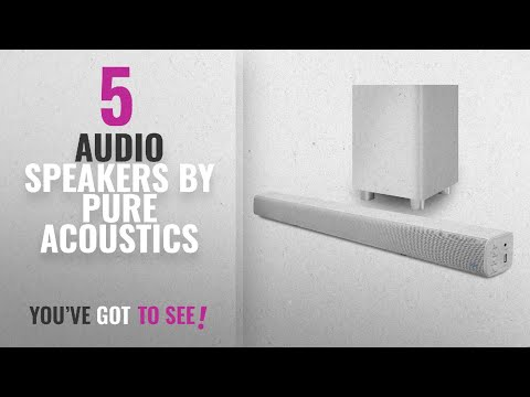 Top 5 Pure Acoustics Audio Speakers [2018]: Pure Acoustics Wireless Surround Bar and Subwoofer