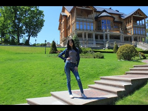 Vlog from LUXURIOUS Presidential Residence in Ukraine