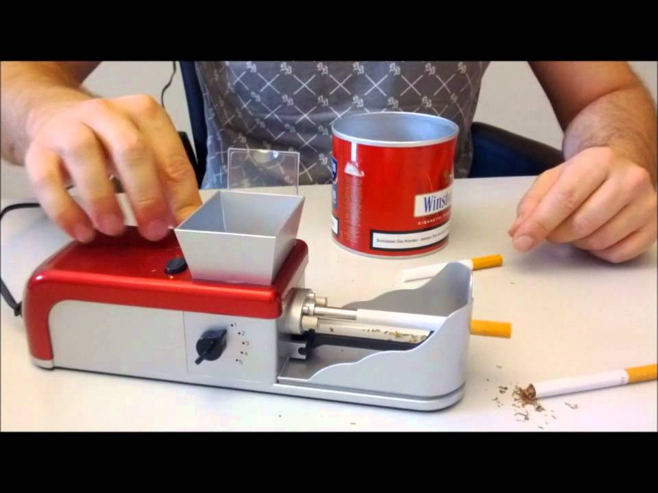 Zigaretten Drehmaschine Test