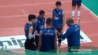 28-12-2017: #eurovolleyu18m - Vincenzo Fanizza verso il girone di qualificazione EuroVolleyu18m