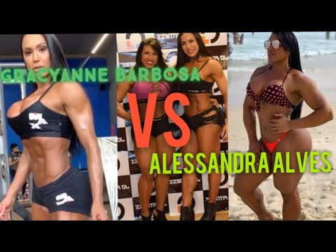 GRACYANNE BARBOSA VS ALESSANDRA ALVES  | NO PAIN NO GAIN