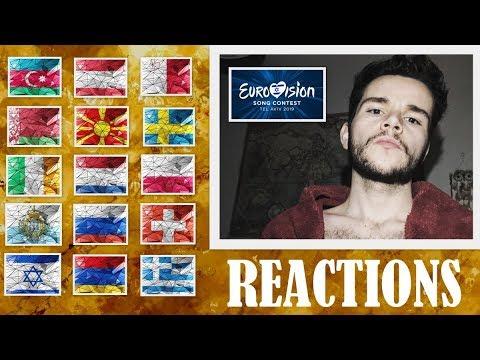 REACTIONS | EUROVISION 2019 | PART 5 | AZERBAIJAN, ARMENIA, MALTA, SWEDEN, SAN MARINO, RUSSIA, ETC..