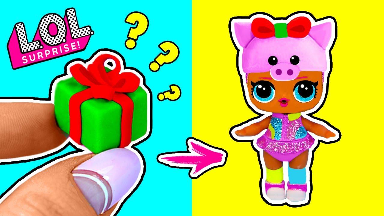 НОВОГОДНИЕ ЛАЙФХАКИ для кукол ЛОЛ! LOL Surprise LIFE HACKS! Поделки к Новому году мастер-класс