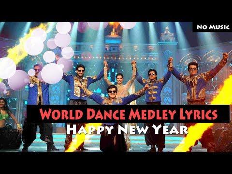 World Dance Medley Lyrics – Happy New Year