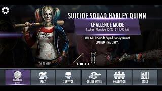 Injustice Android Harley Quinn Suicide Squad Mode Standard Desafio