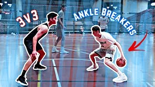 INSANE 3V3 BASKETBALL GAME*CRAZY SHOTS* | NEA Blitzball