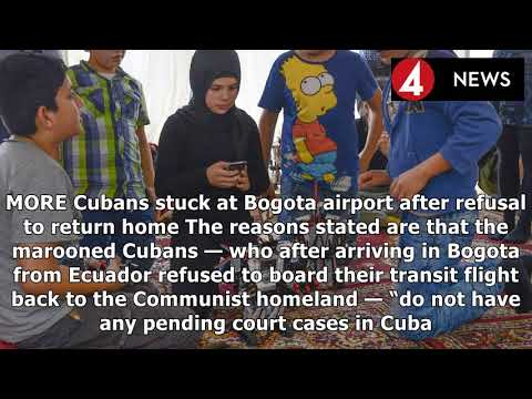 COLOMBIA EXPRESS |The Cuban people in bogota airport ' do not qualify as refugees '