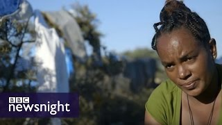 Migrant crisis: 'The Jungle' in the heart of Calais  - Newsnight