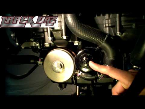 TrackDaz' How To:  Wire your oil filter and drain plug