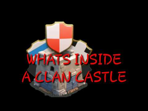 How To See What Is Inside The Clan Castle CoC