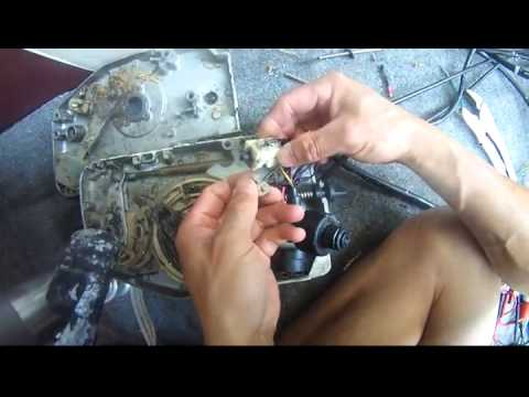 Johnson 90 hp v4 neutral start safety switch - a close-up look how