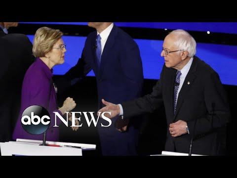 Audio captures post-debate