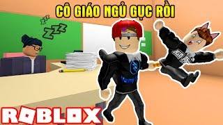 ROBLOX | First Year Of School, When The Teacher's Cup Brunch Asleep | Escape School Obby | Vamy Tran