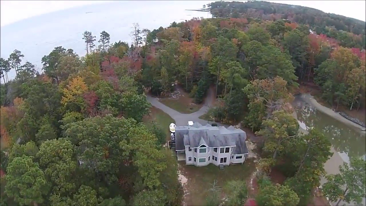 Aerial Drone Footage Of House For Real Estate