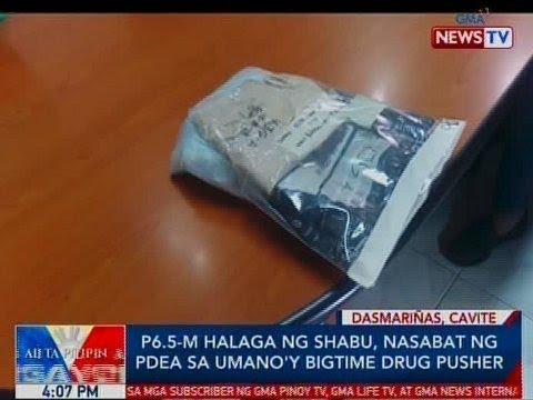 BP: P6.5-M halaga ng shabu, nasabat ng PDEA sa umano'y bigtime drug pusher