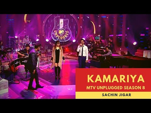 Kamariya  | MTV Unplugged | Season 8 | Sachin Jigar | Stree | Nora Fatehi, Aastha Gill