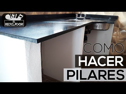 #172 Como hacer pilares (Mesada cocina)из YouTube · Длительность: 3 мин50 с