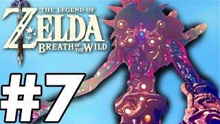 WINDBLIGHT GANON BOSS FIGHT! - The Legend Of Zelda: Breath Of The Wild - Gameplay Part 7 (Switch)