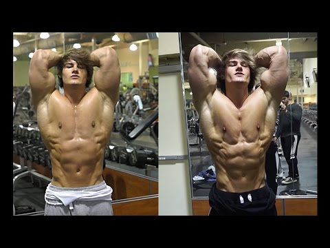 4 WEEK MR OLYMPIA TRANSFORMATION: IFBB Pro Jeff Seid Shoulder & Ab Workout 6 weeks out