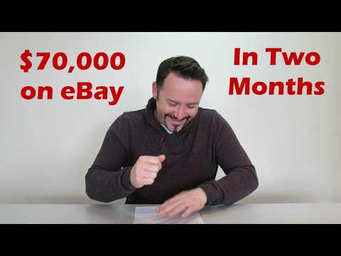 How to Make $70,000 on eBay in Two Months