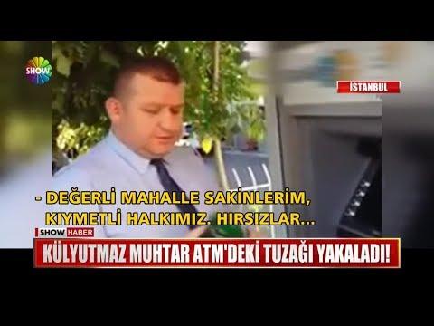 Külyutmaz Muhtar ATM'deki Tuzağı Yakaladı!
