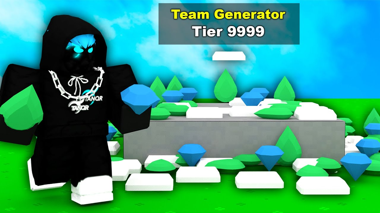 Download I secretly HACKED the generator in Roblox Bedwars..