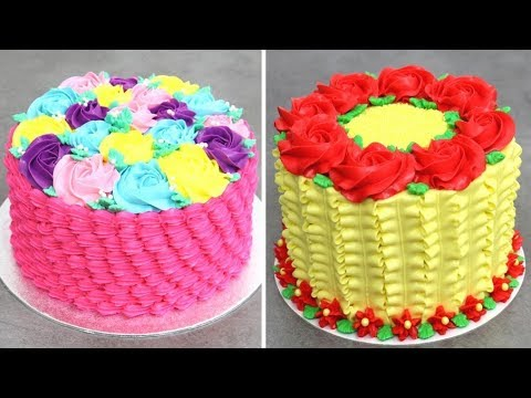 Amazing Cake Decorating Ideas In 10 Minutes By Cakes StepbyStep