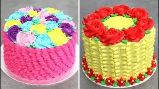 Beautiful Easy Cake Decorating Ideas | Cake Decoration & Cake Design Ideas by Cakes StepbyStep