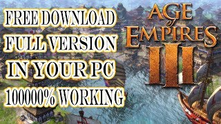 Age Of Empires 3 Game Free download For Pc || Windows 7/8/10 || Latest Version